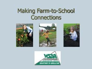 Making Farm-to-School Connections