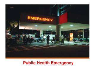 Public Health Emergency