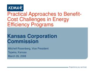 Practical Approaches to Benefit-Cost Challenges in Energy Efficiency Programs