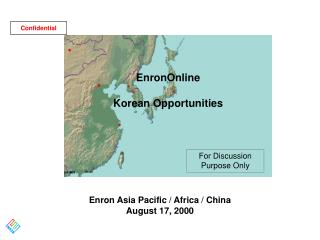 Enron Asia Pacific / Africa / China August 17, 2000