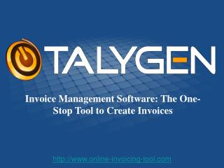 Invoice Management Software: The One-Stop Tool to Create Inv