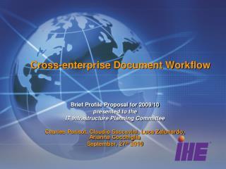 Cross-enterprise Document Workflow