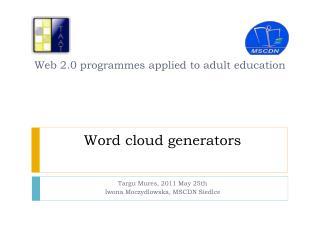 Word cloud generators