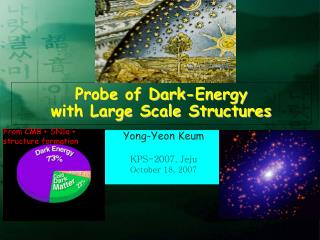 Probe of Dark-Energy  with Large Scale Structures