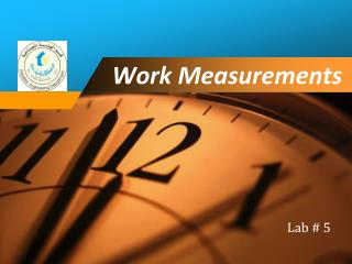 Work Measurements