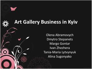 Art Gallery Business in Kyiv