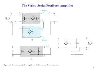 The Series–Series Feedback Amplifier