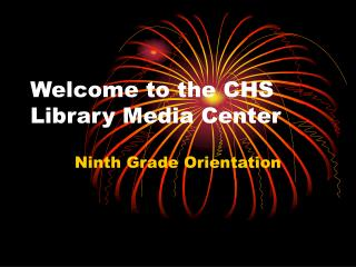 Welcome to the CHS Library Media Center