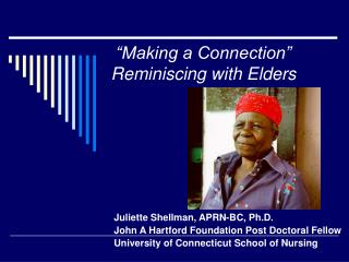 """Making a Connection"" Reminiscing with Elders"