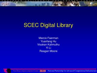 SCEC Digital Library