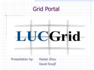 Grid Portal