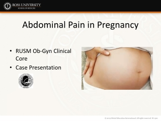 Abdominal Pain During Pregnancy