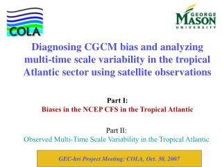Part II: Observed Multi-Time Scale Variability in the Tropical Atlantic