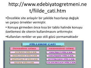 edebiyatogretmeni /fiilde_ cati . htm
