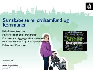 Samskabelse ml civilsamfund og kommuner