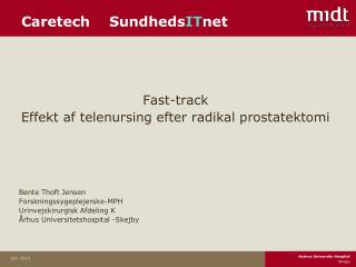 Caretech    Sundheds IT net