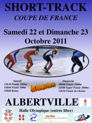 SHORT-TRACK   COUPE DE FRANCE
