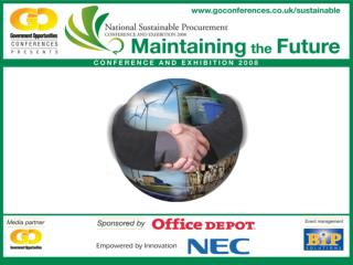 Delivering Sustainable Procurement
