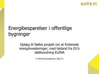 Energibesparelser i offentlige bygninger