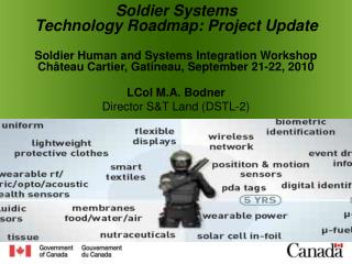 Soldier Systems Technology Roadmap: Project  Update