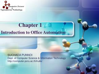 Introduction to Office Automation