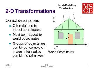 2-D Transformations