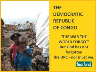 THE  DEMOCRATIC  REPUBLIC  OF CONGO