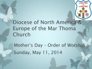 Diocese of North America & Europe of the Mar Thoma Church