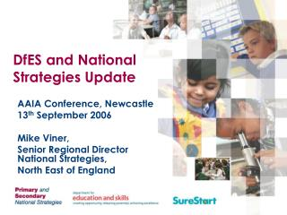 DfES and National Strategies Update