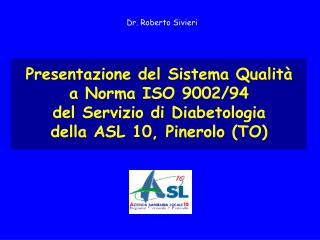 Dr. Roberto Sivieri
