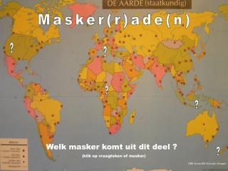 Masker(r)ade(n)