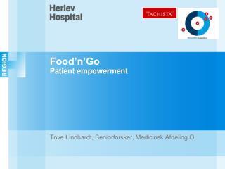 Food�n�Go  Patient empowerment