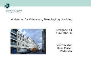 Ministeriet for Videnskab, Teknologi og Udvikling