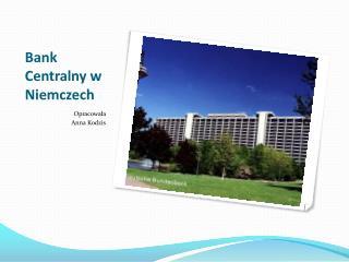 Bank Centralny w Niemczech