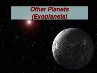 Other Planets (Exoplanets)