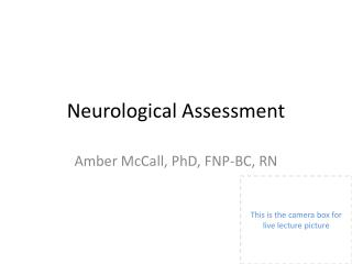 Neuro Assessment
