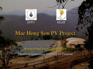 Mae Hong Son PV Project