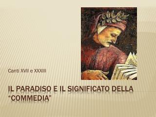"""Il Paradiso e il significato della """"Commedia"""""""