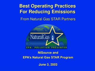 Best Operating Practices For Reducing Emissions