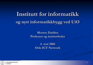 Største enkeltinvestering i IKT i Norge gjennom tidene  (og i overskuelig fremtid)