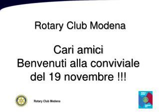 Rotary Club Modena