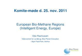 Komite-møde d. 25. nov. 2011