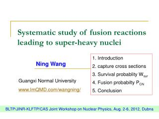 Systematic study of fusion reactions leading to super-heavy nuclei