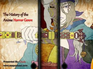 The History of the Anime Horror Genre