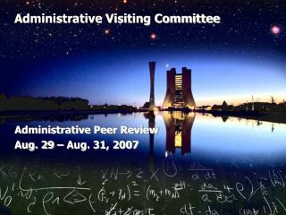 Administrative Visiting Committee
