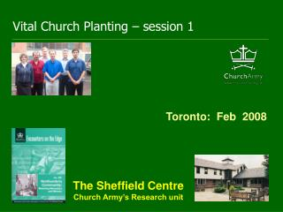 Vital Church Planting � session 1