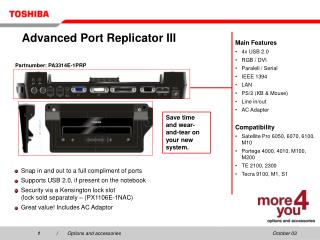 Advanced Port Replicator III