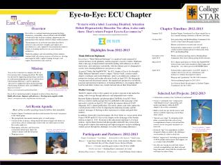 Eye-to-Eye: ECU Chapter