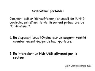 Ordinateur portable: