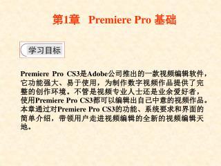 ? 1 ?    Premiere Pro  ??